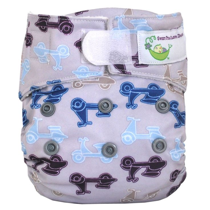 Sweet Pea Diapers Newborn AIO Diaper