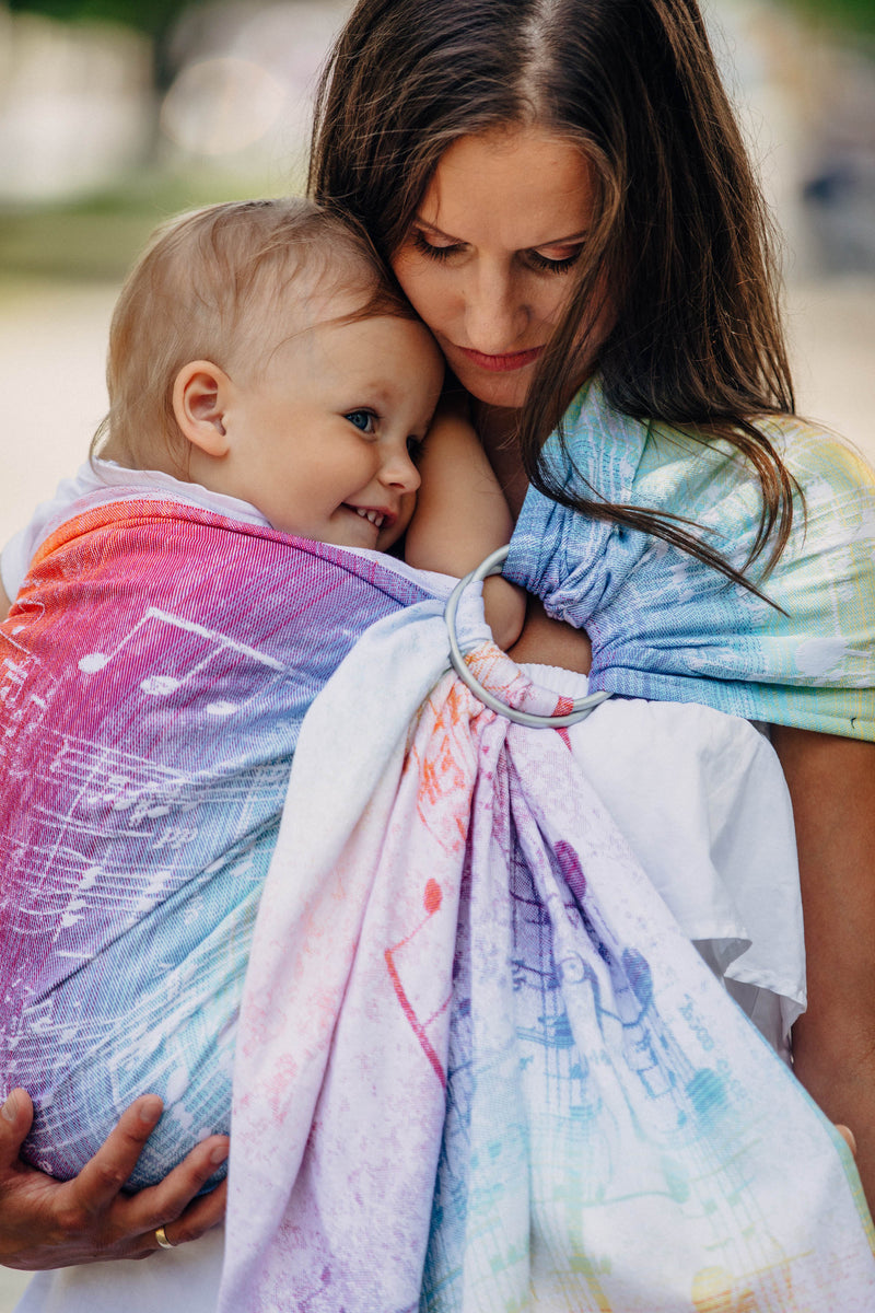 Lenny Lamb Symphony Rainbow Light Ring Sling - IN TRANSIT