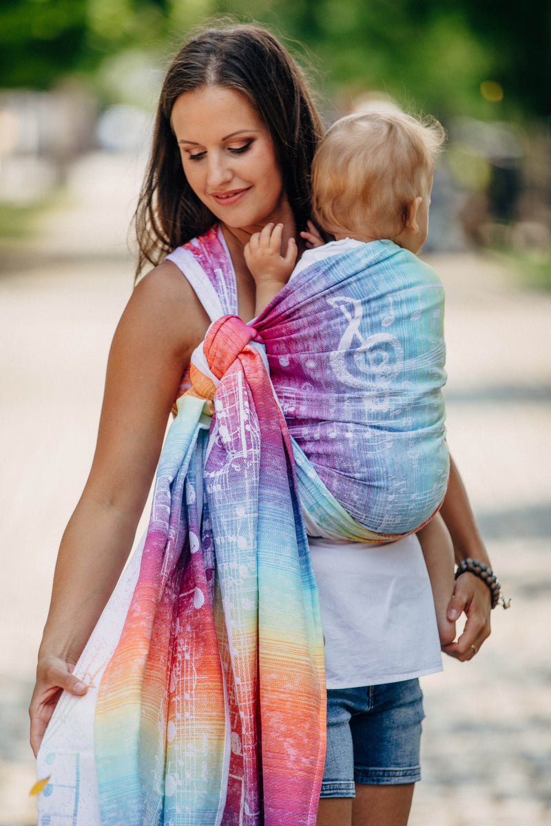 Lenny Lamb Symphony Rainbow Light Wrap