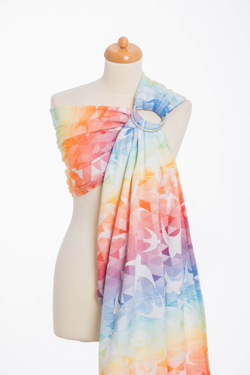 Lenny Lamb Swallows Rainbow Light Ring Sling