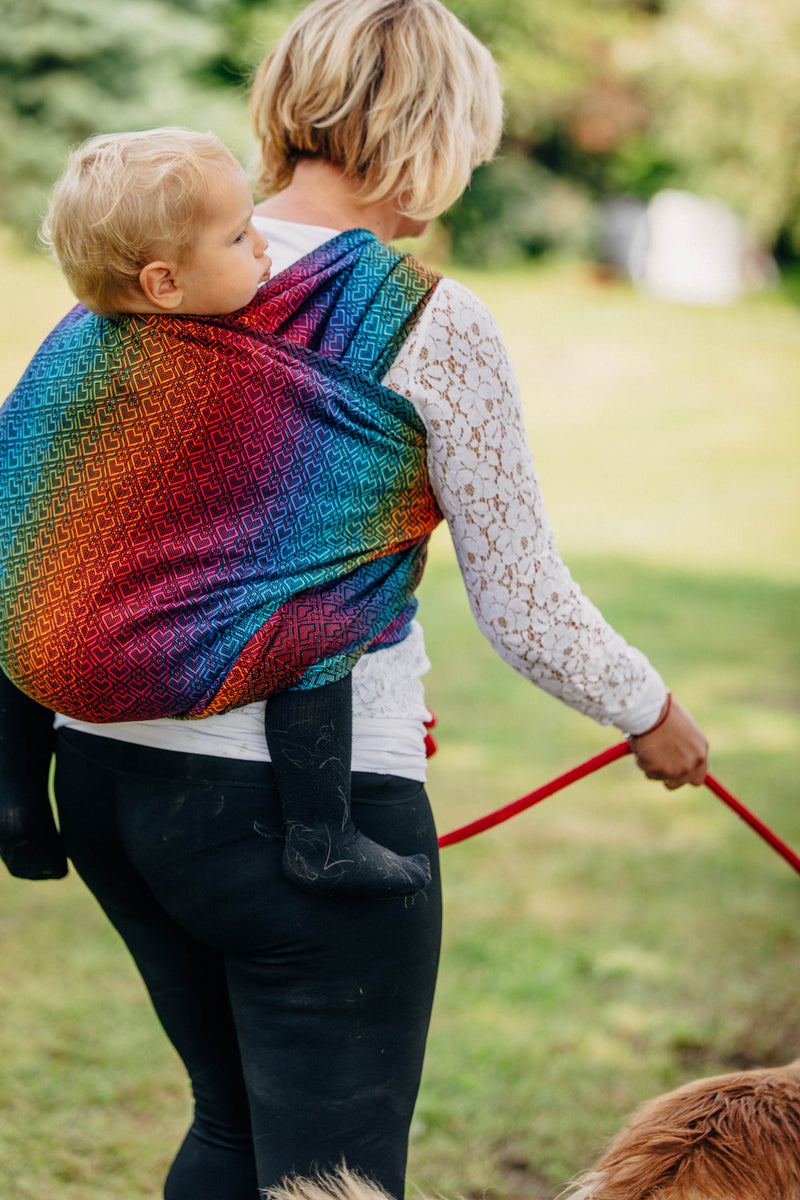 Lenny Lamb Big Love Rainbow Dark Wrap