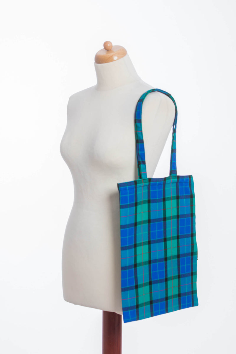 Lenny Lamb Countryside Plaid Shopping bag