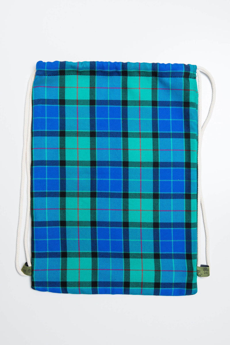 Lenny Lamb Countryside Plaid Sackpack