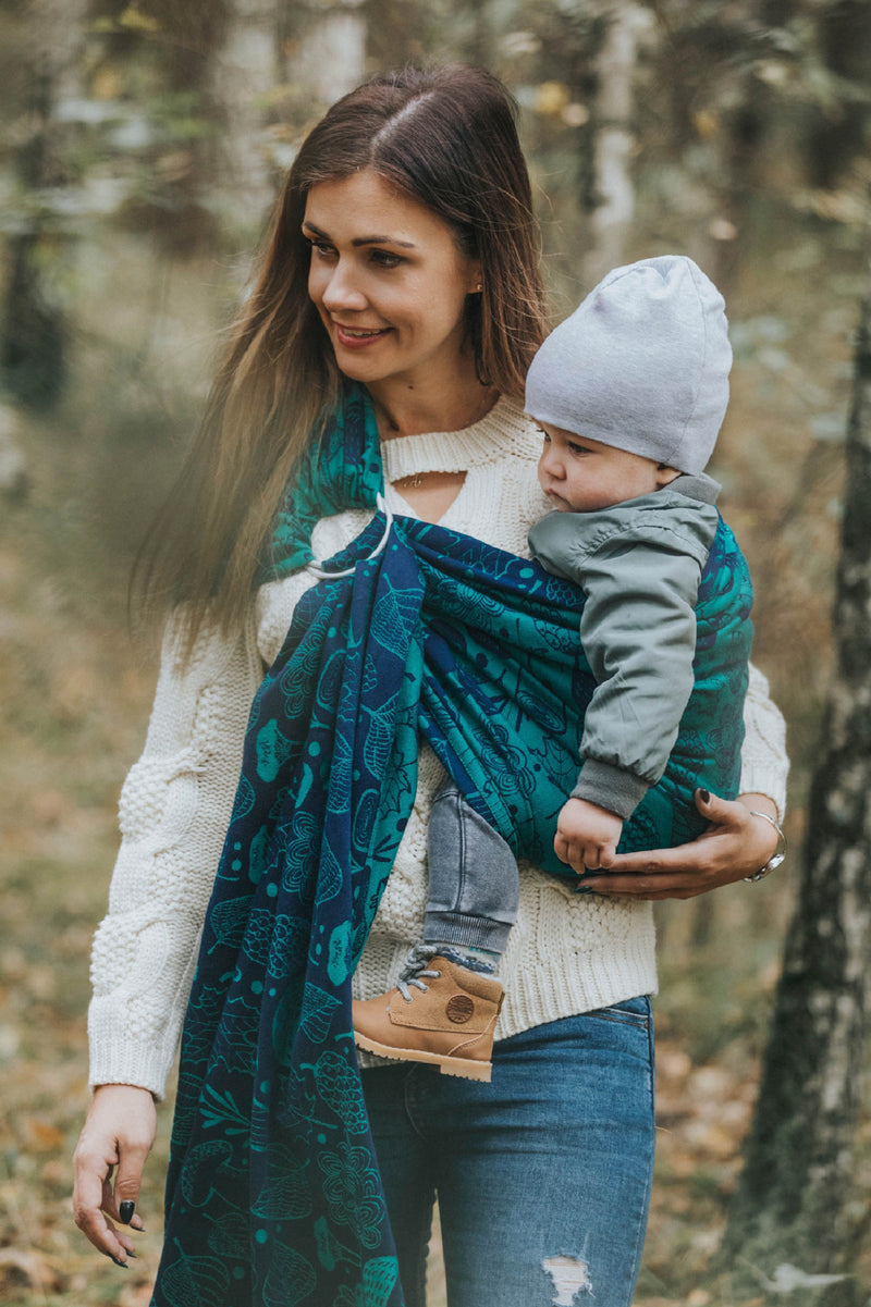 Lenny Lamb Under the Leaves Ring Sling
