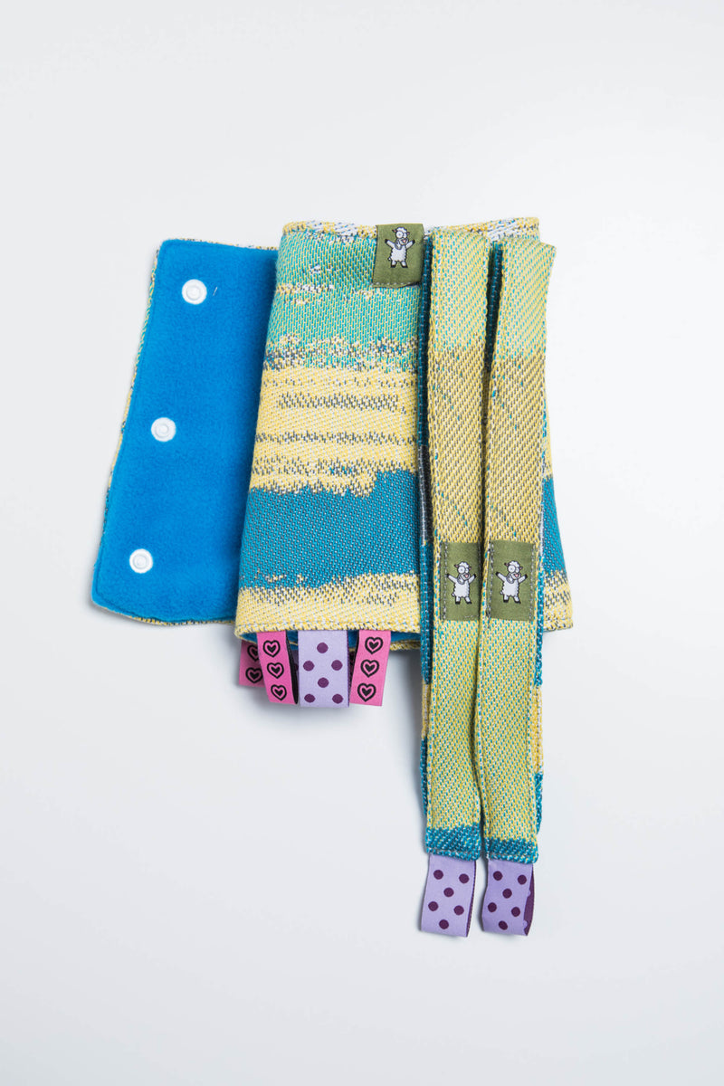 Lenny Lamb Wander Drool Pads and Reach Straps Set