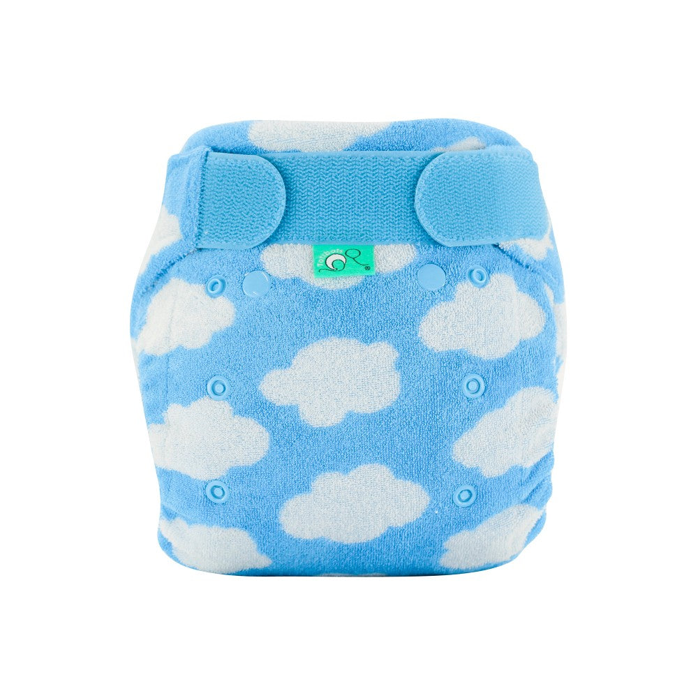 TotsBots Bamboozle Stretch Fitted Cloth Diaper Daydream