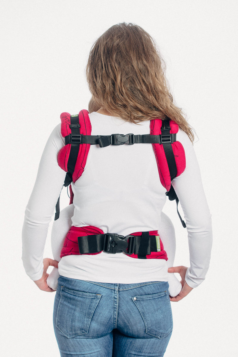 Lenny Lamb I Love You LennyUP Adjustable Full Buckle SSC Lenny Up Babywearing Carrier