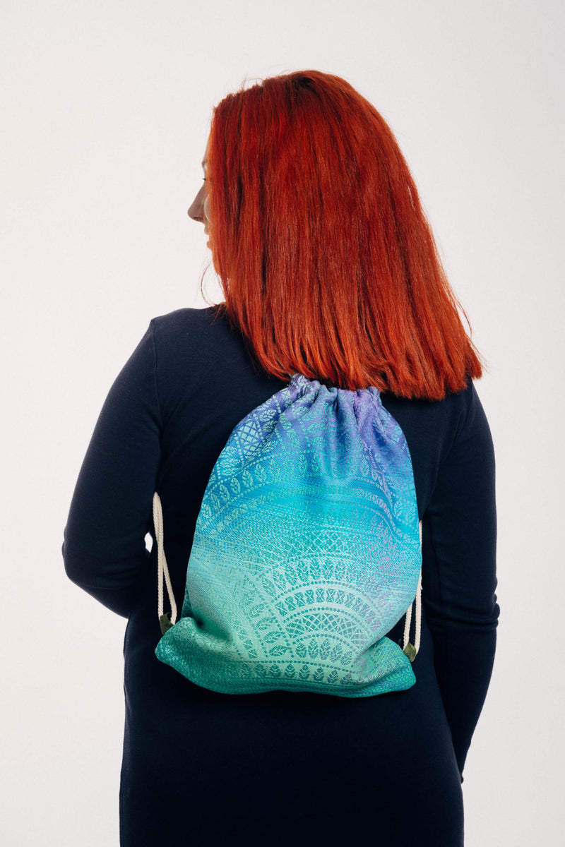 Lenny Lamb Peacock's Tail Fantasy Sackpack