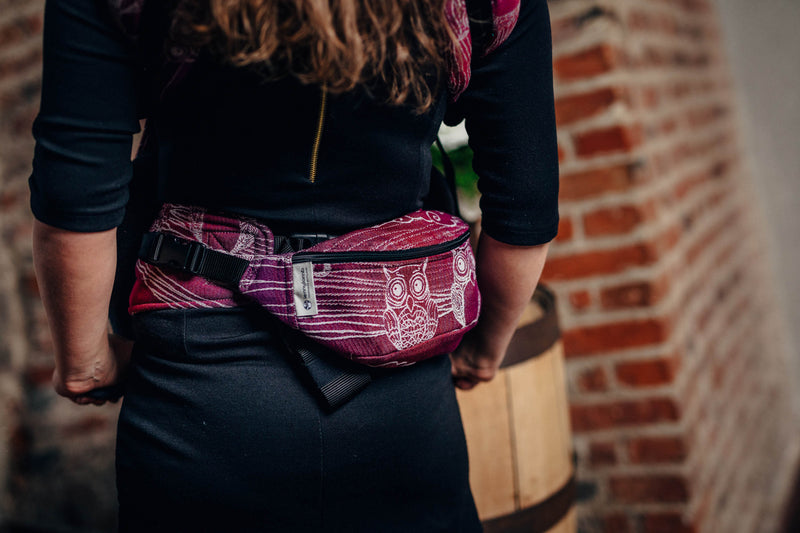 Lenny Lamb Bubo Owls Lost in Bordeaux Waist Bag
