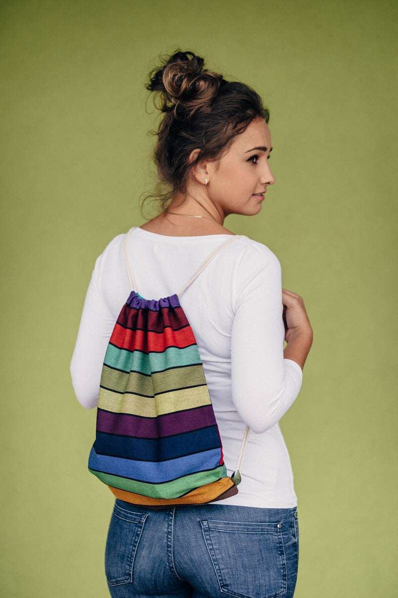 Lenny Lamb Carousel of Colors Sackpack