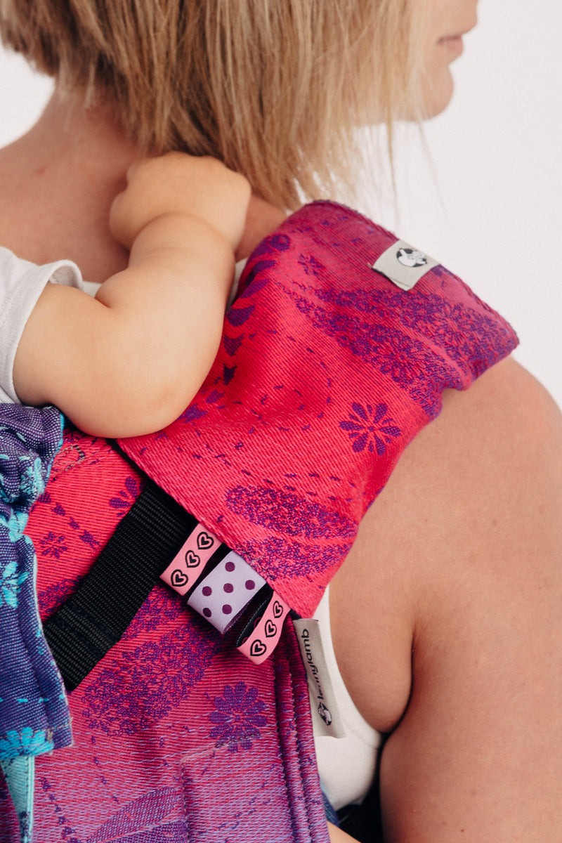Lenny Lamb Dragonfly Farewell to Summer Drool Pads and Reach Straps Set
