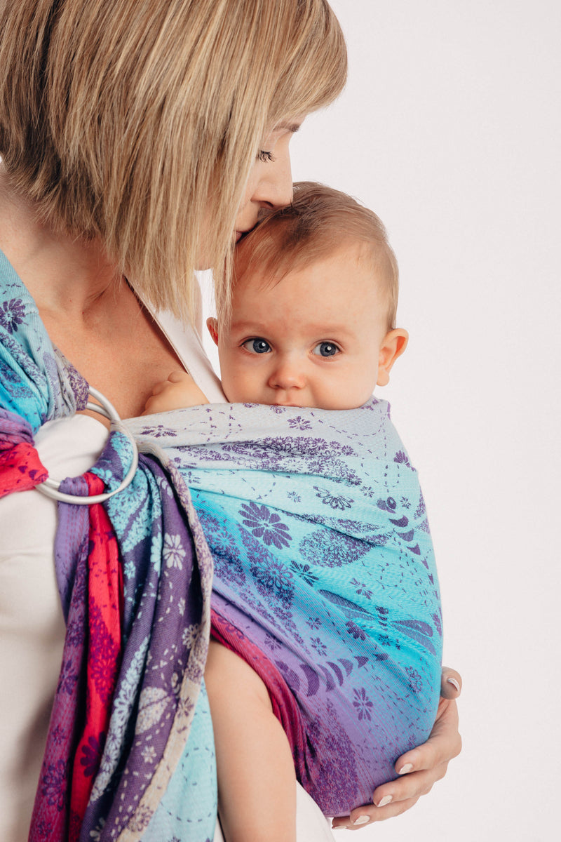 Lenny Lamb Dragonfly Farewell to Summer Ring Sling