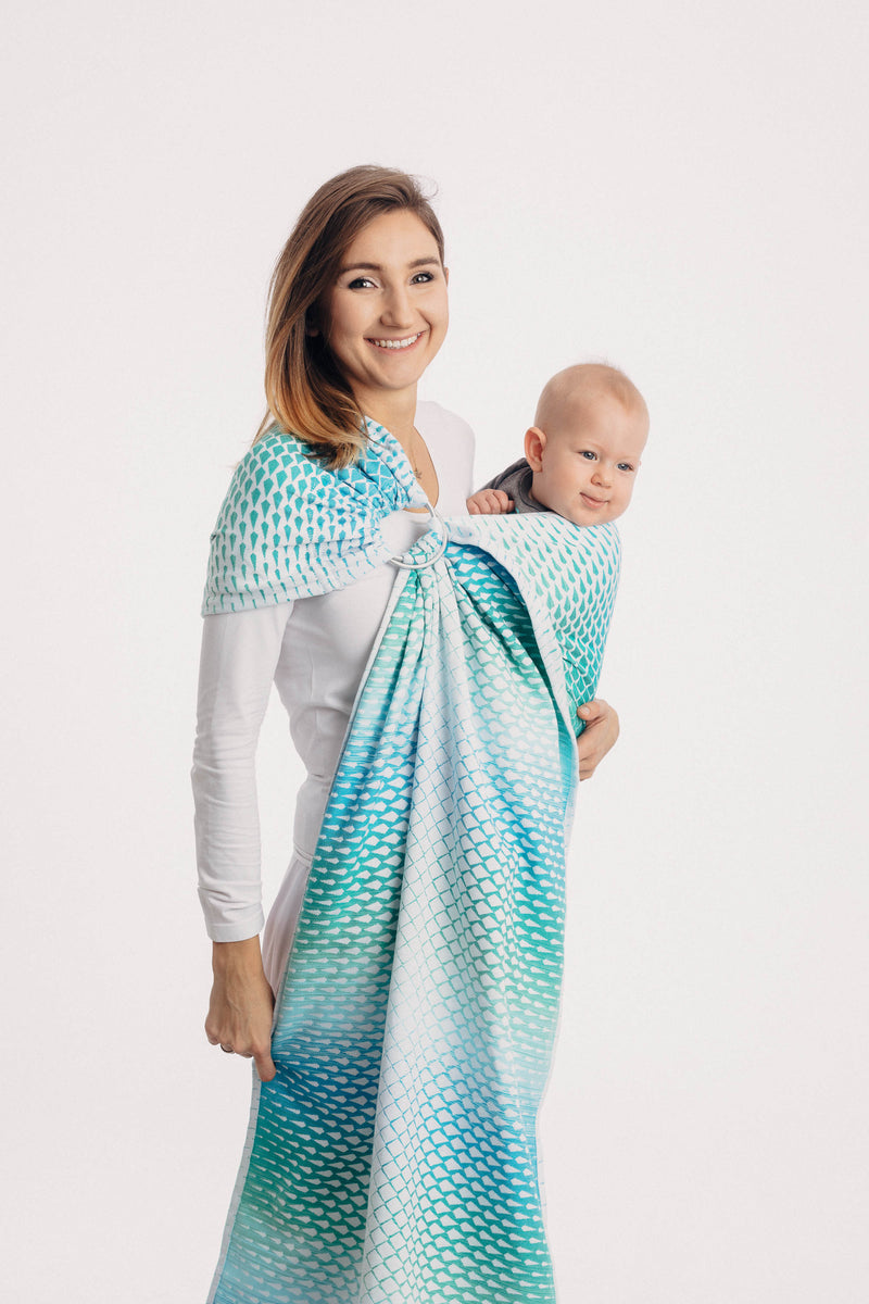 Lenny Lamb Icicles Ice Mint Ring Sling