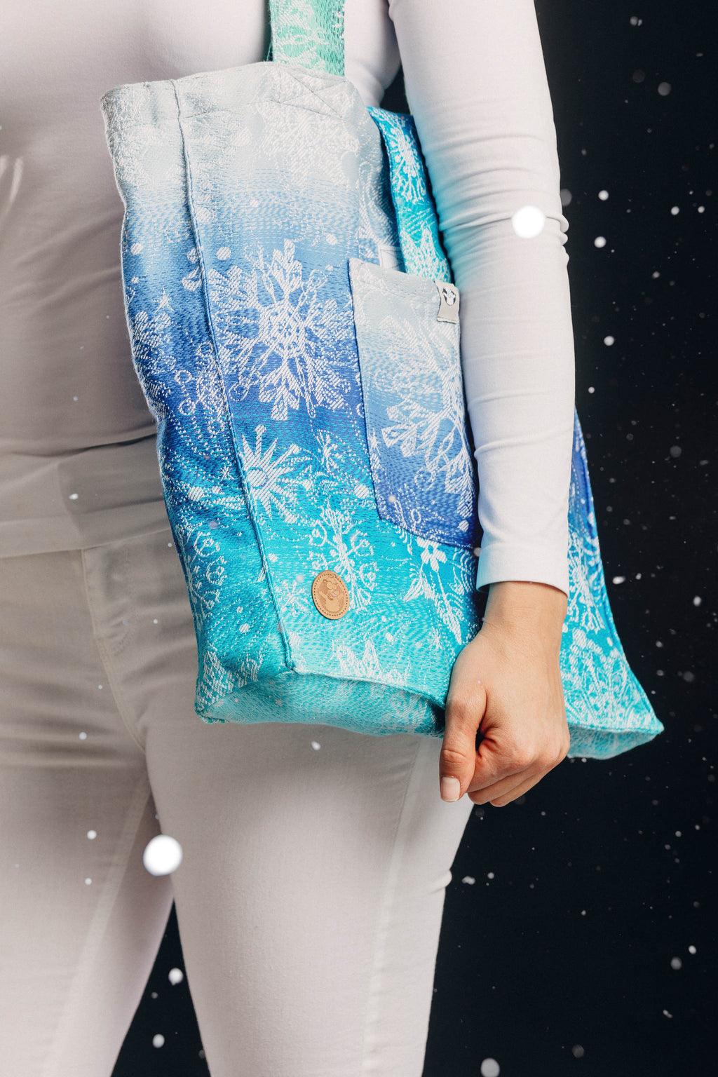 Lenny Lamb Snow Queen Magic Lake Shoulder Bag