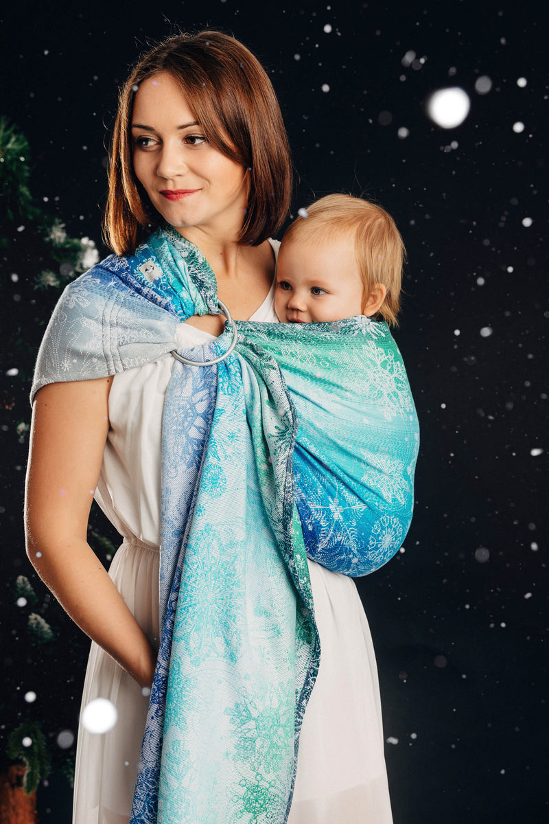 Lenny Lamb Snow Queen Magic Lake Ring Sling