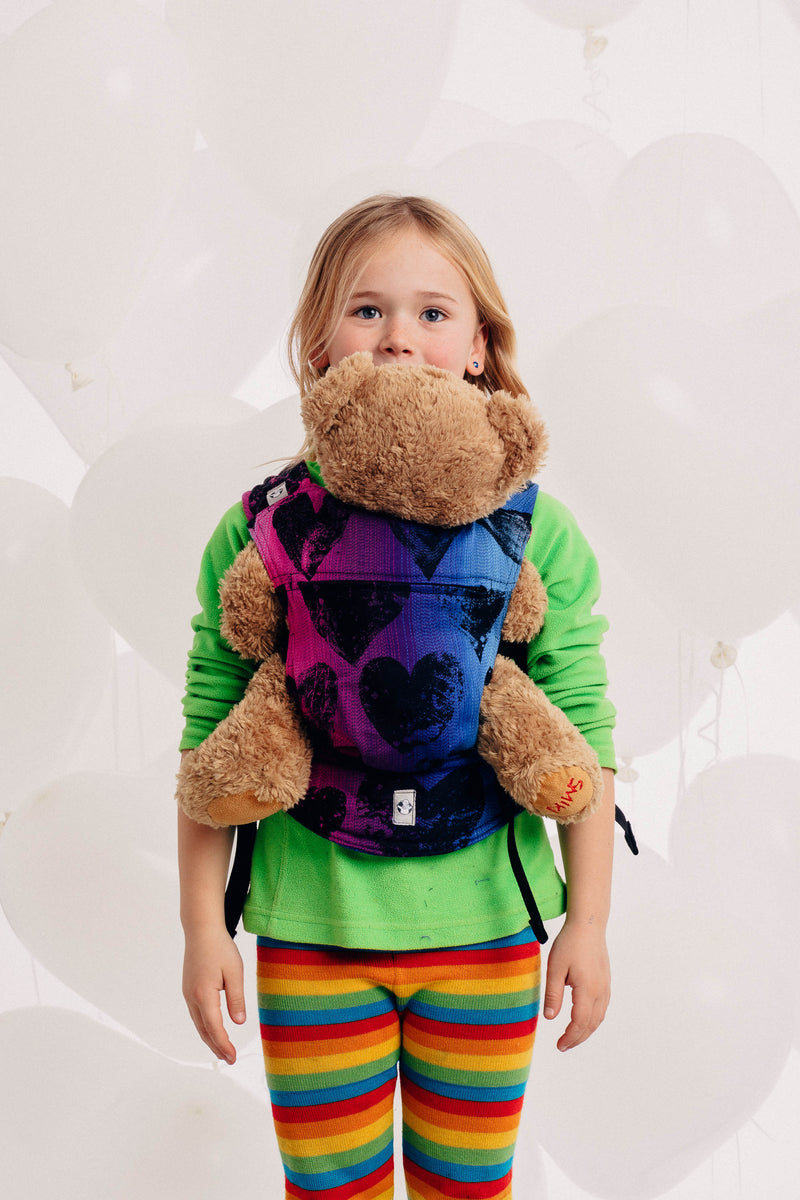 Lenny Lamb Lovka Pinky Violet Doll Carrier