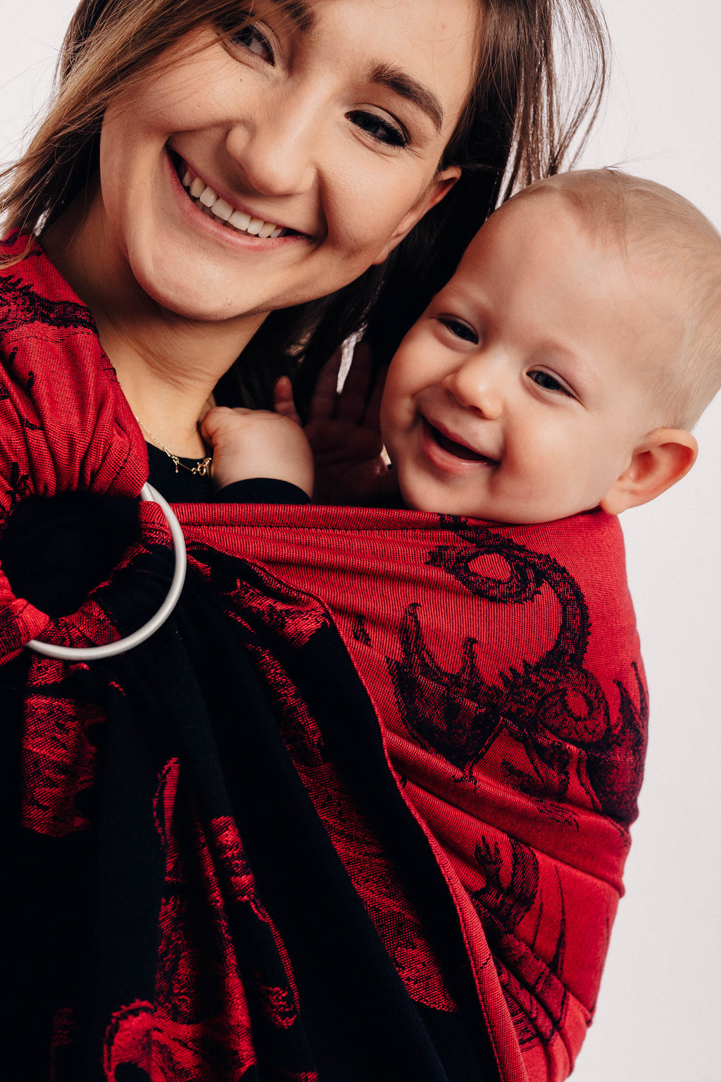 Lenny Lamb Dragon Fire and Blood Ring Sling - IN TRANSIT