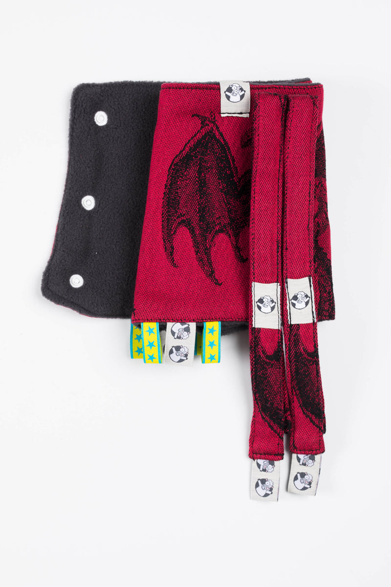Lenny Lamb Dragon Fire and Blood Drool Pads and Reach Straps Set - IN TRANSIT