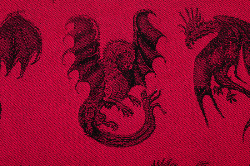Lenny Lamb Dragon Fire and Blood Babywearing Woven Wrap