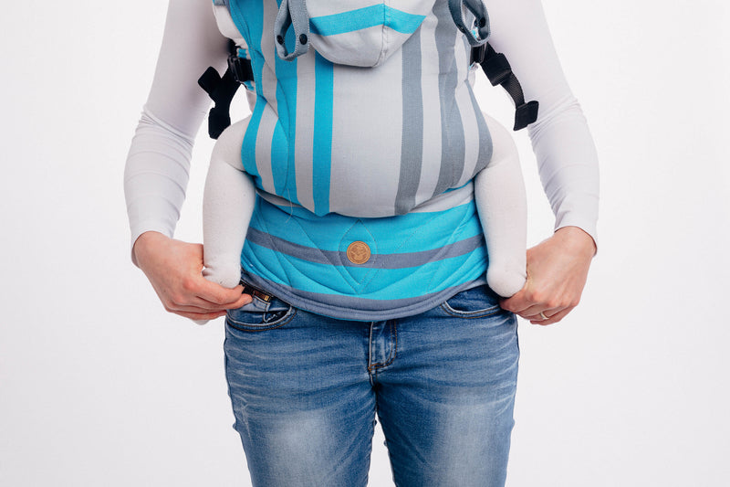 Lenny Lamb Misty Morning LennyGo Full Buckle Baby Carrier (Soft Structured Carrier SSC)