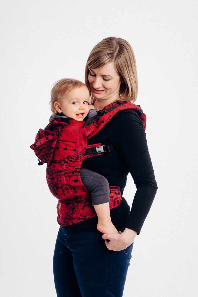 Lenny Lamb Symphony Flamenco LennyGo Full Buckle Baby Carrier (Soft Structured Carrier SSC)