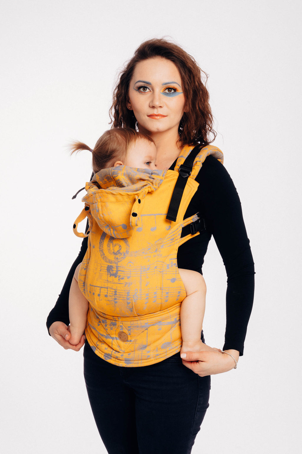 Lenny Lamb Symphony Sun Gift LennyGo Full Buckle Baby Carrier (Soft Structured Carrier SSC)