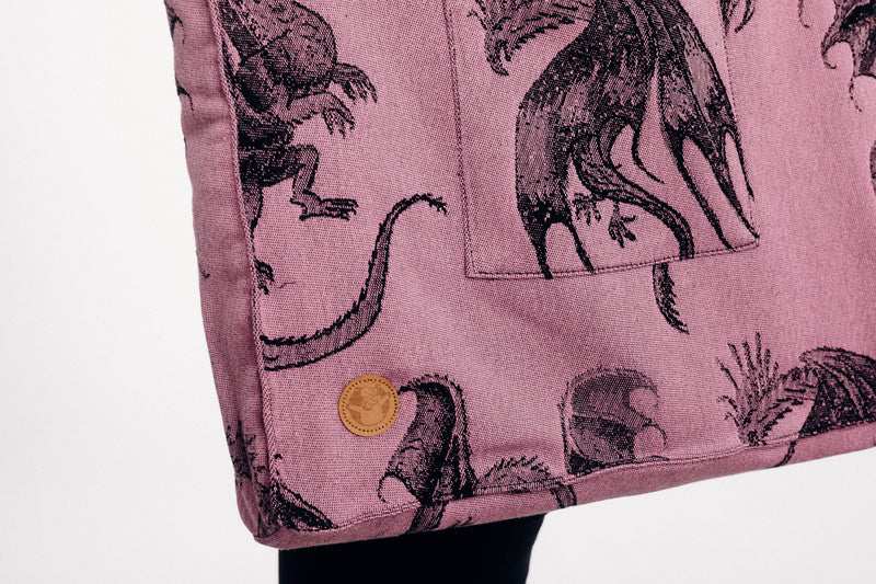 Lenny Lamb Dragon Fruit Shoulder Bag