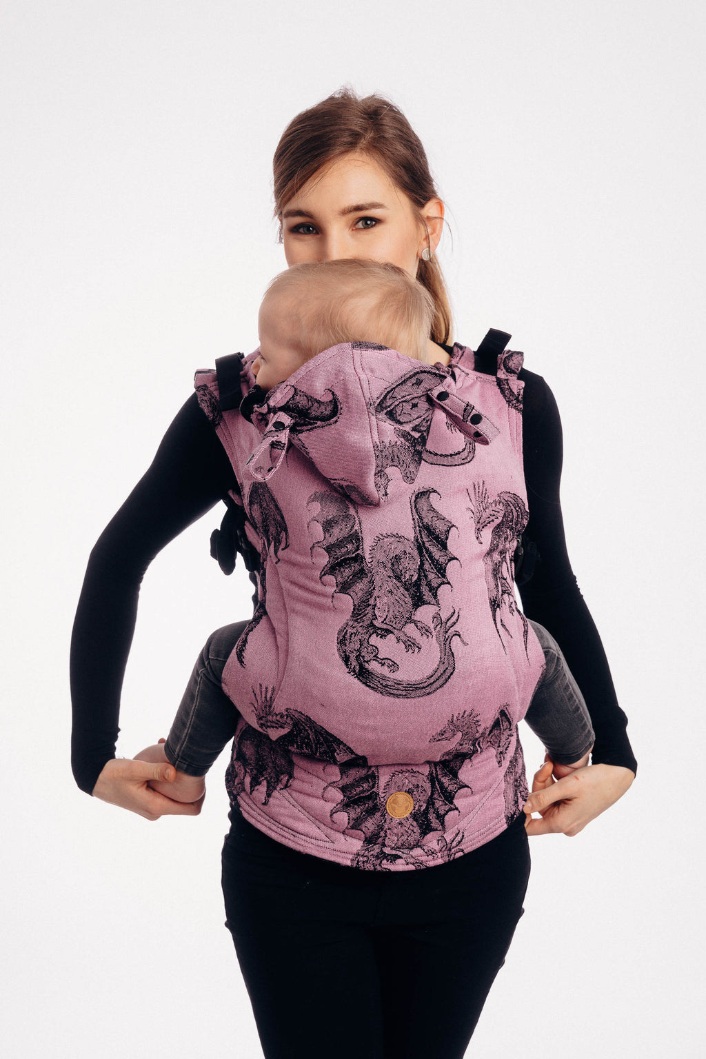 Lenny Lamb Dragon Fruit LennyGo Full Buckle Baby Carrier (Soft Structured Carrier SSC