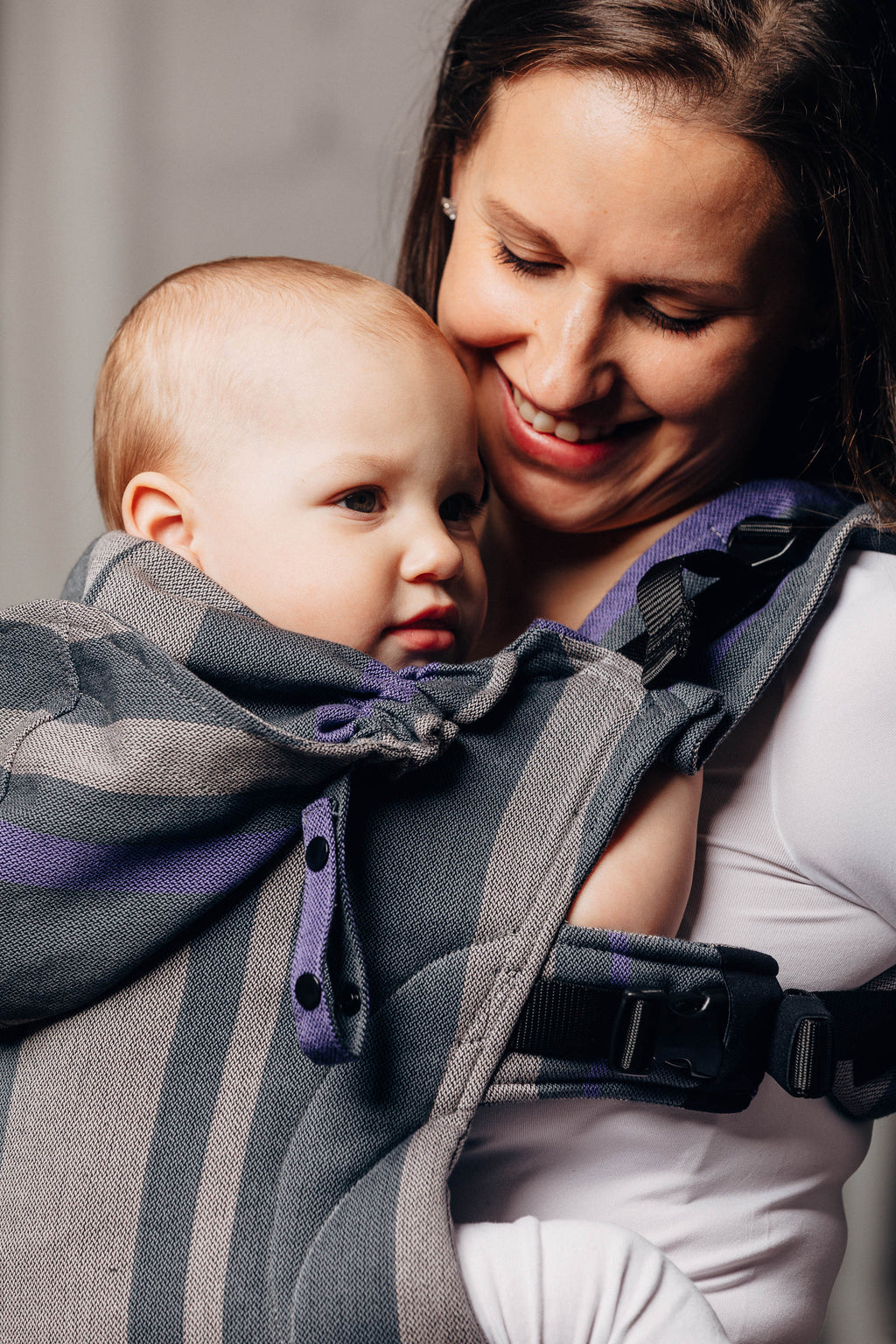 Lenny Lamb Smoky Lilac LennyGo Full Buckle Child Carrier