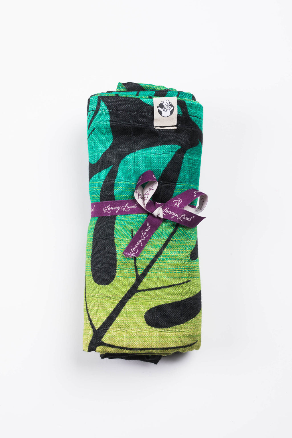 Lenny Lamb Monstera Swaddle Wrap Blanket