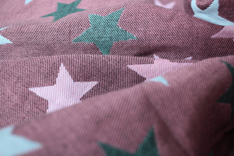 Yaro Stars Ultra Black Rose Mint (cotton)