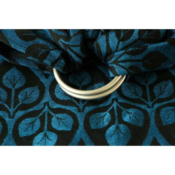 Yaro La Vita Blue Black Ring Sling (linen)