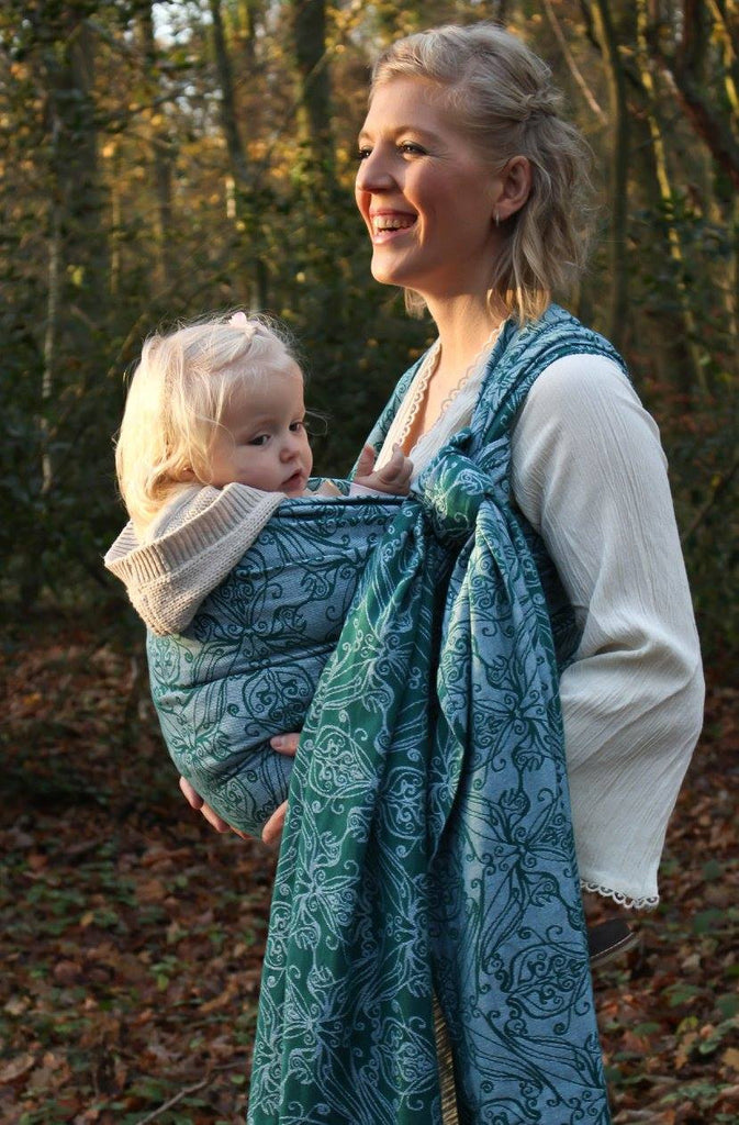 Yaro Elvish Dark Green Wrap (cotton)