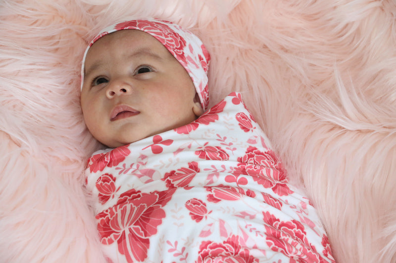 Bumblito Stretch Swaddle Set (includes matching hat)