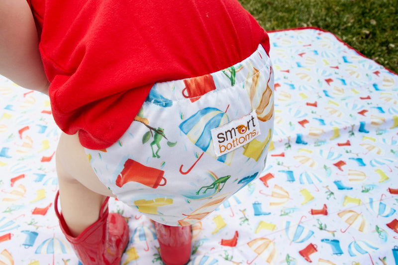 Smart Bottoms 3.1 All in One AIO Cloth Diaper Rainy Days