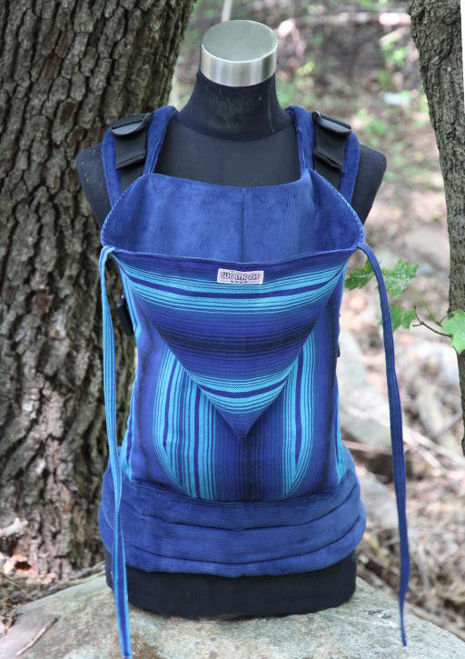 Wompat Soft Structured Carrier Agua Azul Dark