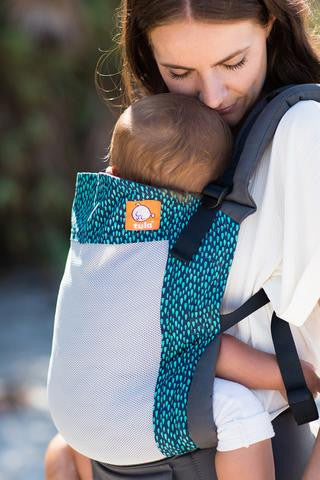 Tula Ergonomic Carrier Coast Aqua Rain