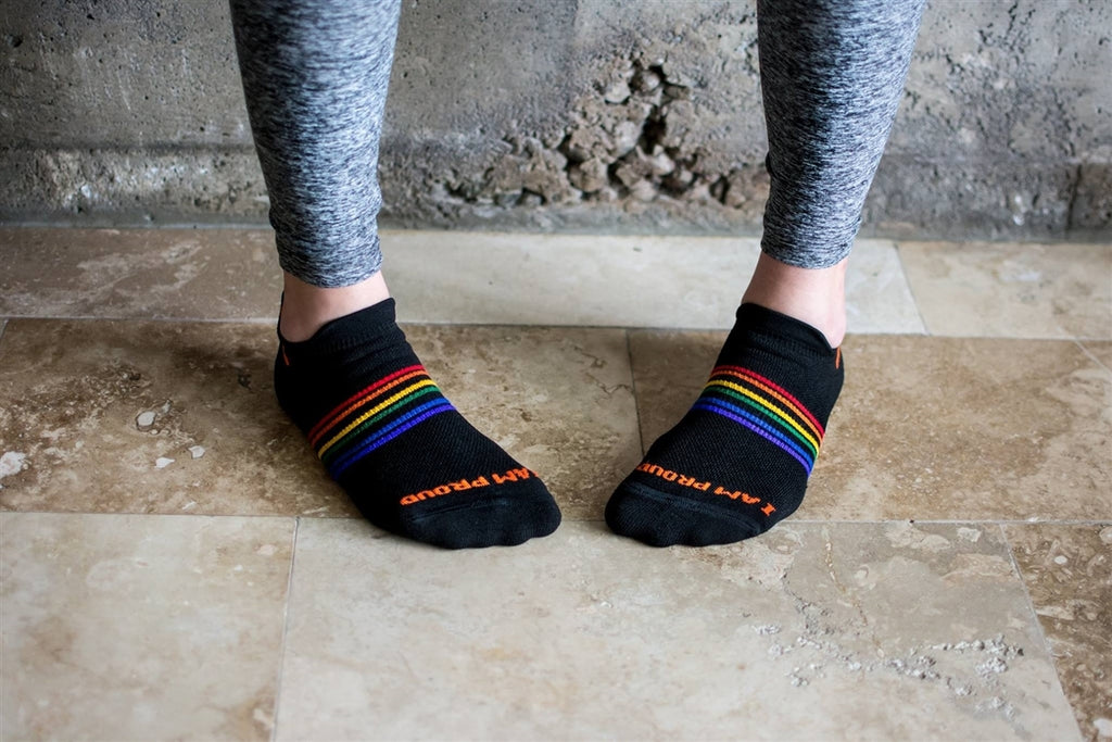 Pride Socks Athletic Anklets Unisex Socks - Strength