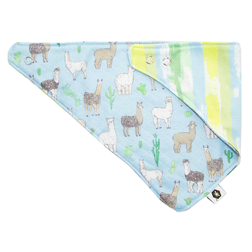 Bumblito Bandana Bib Party of Eight Llamas