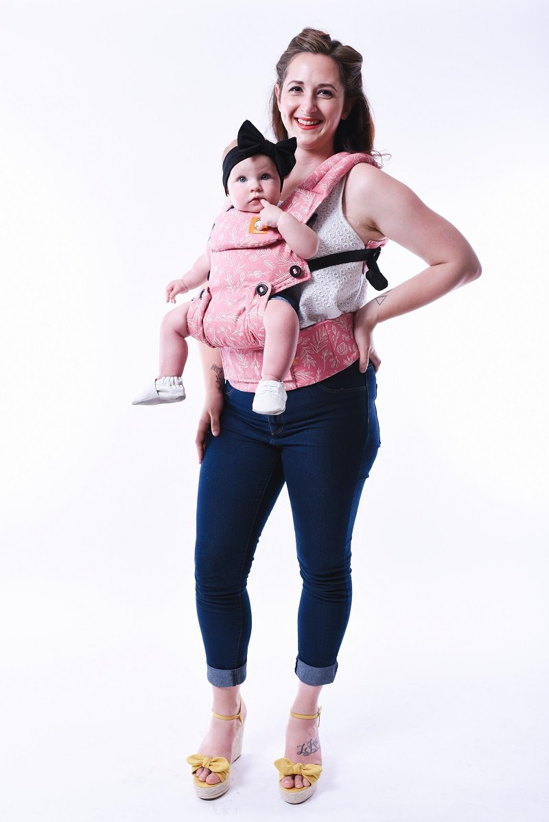 AVAILABLE 8/14 @  NOON CST - Tula Explore Baby Carrier - Bloom