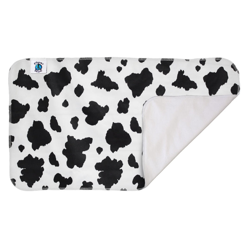 Planetwise Waterproof Diaper Changing Pad Moo-licious