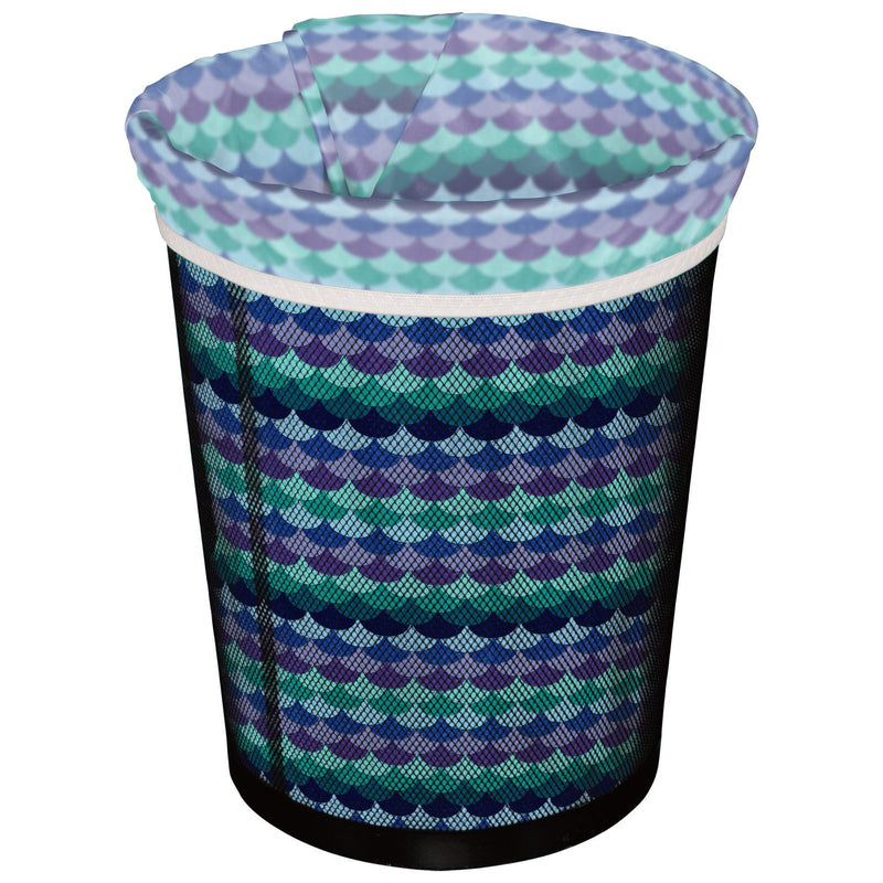 Planet Wise Reusable Trash Can Liners Mermaids tail