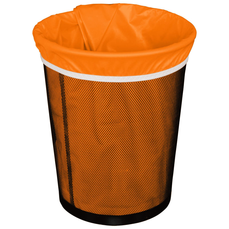 Planet Wise Reusable Trash Can Liners Orange