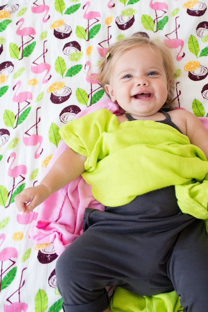 Tula Blanket Set Coco Flamingo