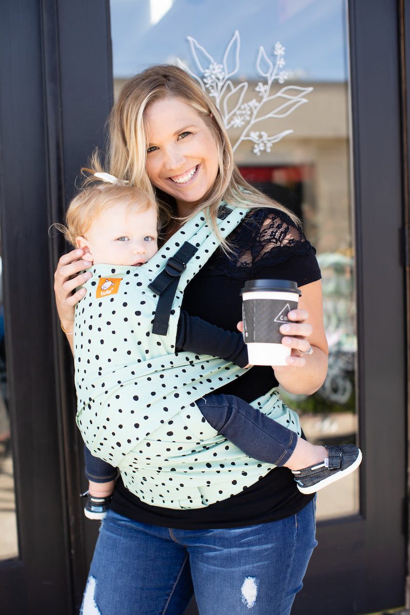 Tula Half Buckle Baby Carrier - Mint Chip - IN TRANSIT