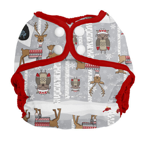 Imagnie Newborn Cloth Diaper Covers Cozy Critters