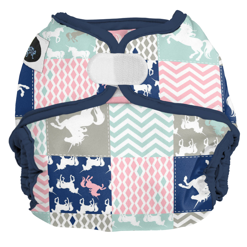 Imagine All-In-Twos Diaper Cover One Size Unicorn Dreams