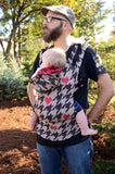 Lenny Lamb Ergonomic Full Buckle Carrier My Dear Watson 2.0 Red (cotton)