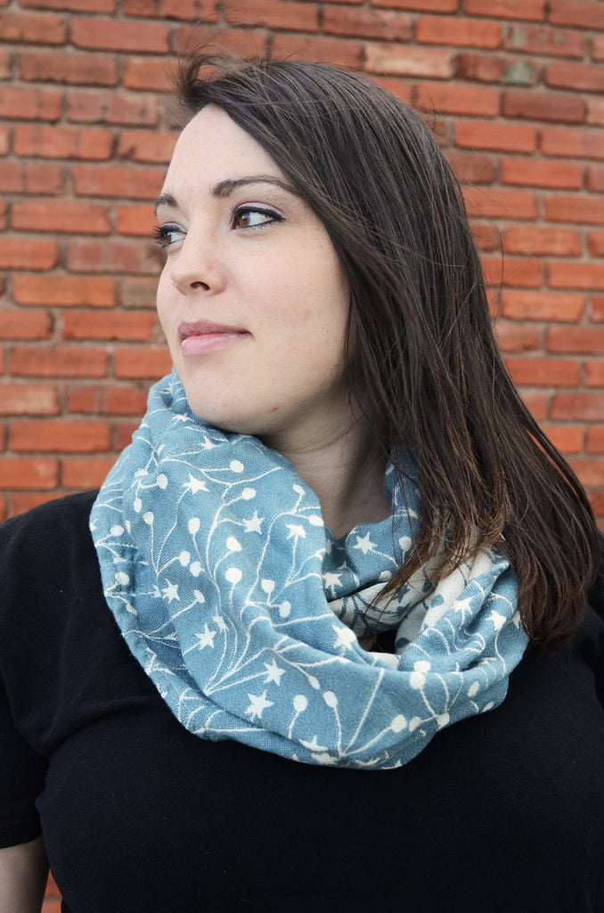 Smitten With Wovens Tala Anusha Infinity Scarf cotton