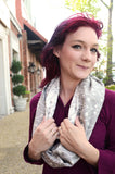 Smitten with Wovens Tala Estelle Infinity Scarf cotton